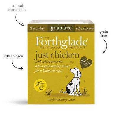Forthglade Just Chicken - Wet Food - For Dogs
