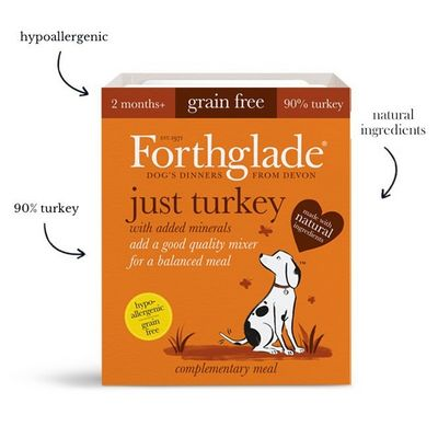 Forthglade Just Turkey - Wet Food - For Dogs