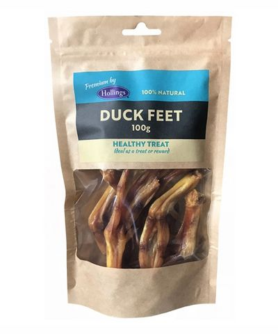 Hollings 100% Natural Duck feet