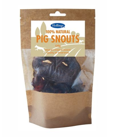 Hollings 100% Natural Pig Snouts - 120g