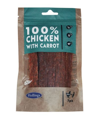 Hollings Chicken With Carrot Bars - 7pk