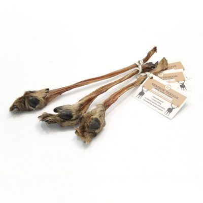 JR Pet Products - Venison Tendon With Hair & Hoof