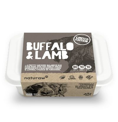 Naturaw Buffalo & Lamb - Raw Food - For Working Dogs