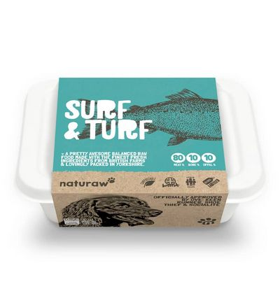 Naturaw Surf & Turf - Raw Food - For Working Dogs
