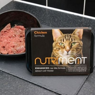 Nutriment Chicken - Raw Food - For Cats - 500g