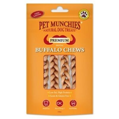 Pet Munchies Buffalo Chews Small