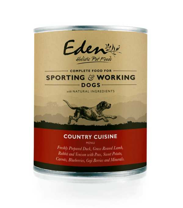 Eden Country Cuisine - Wet Food - For Working Dogs