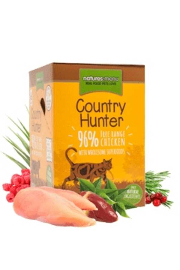 Natures Menu Cat Food Country Hunter Pouches Free Run Chicken
