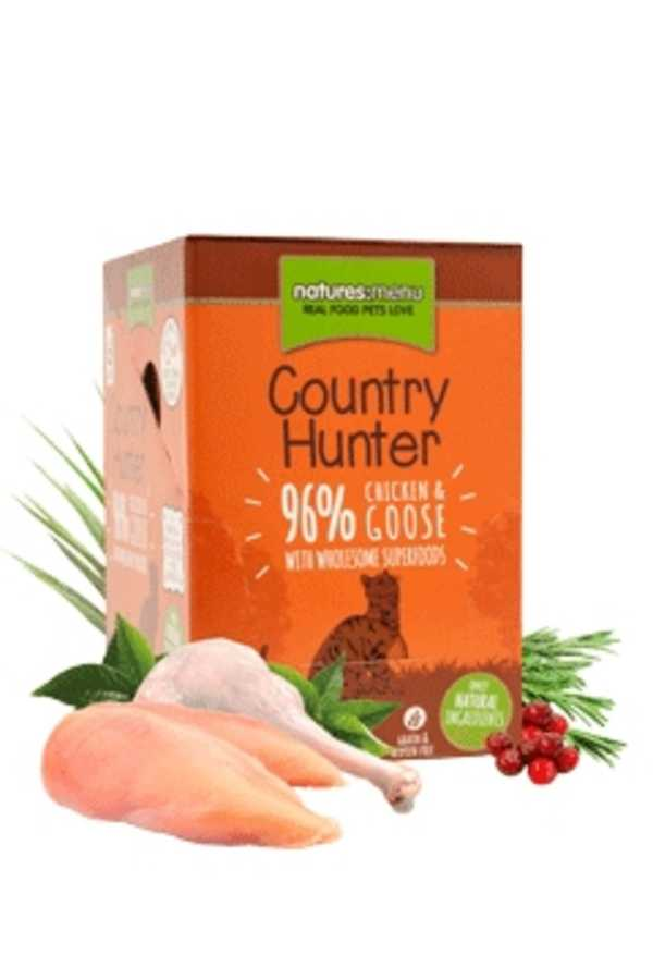 Natures Menu Cat Food Country Hunter Pouches Chicken & Goose