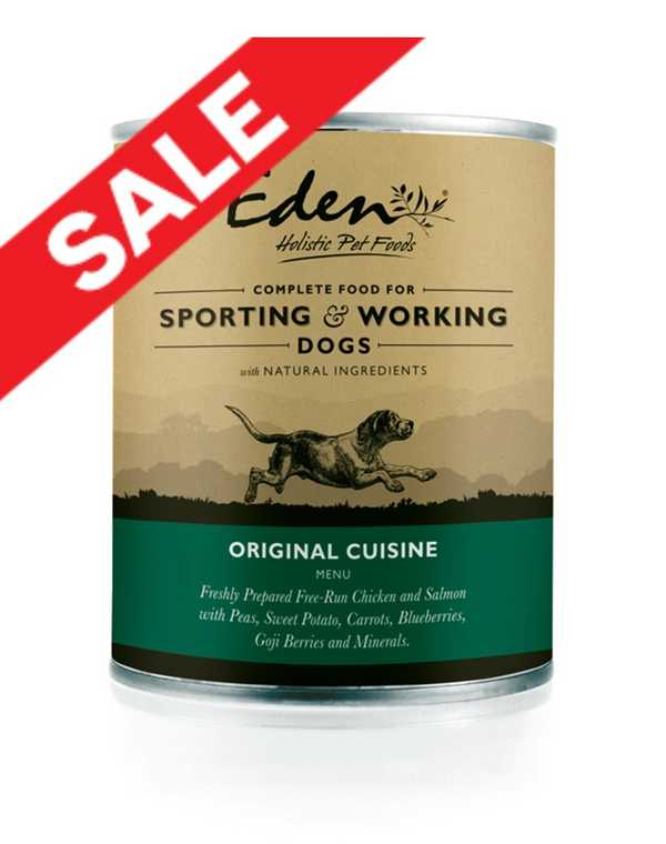 Eden Original - Wet Food - For Working and Sporting Dogs