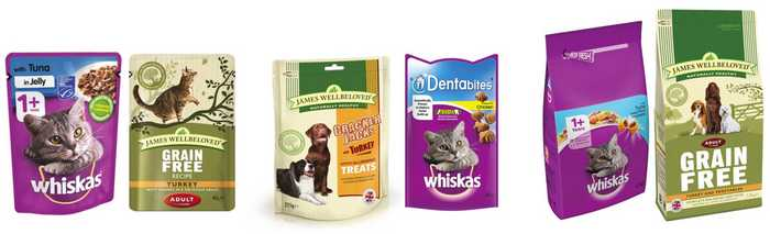 Accepted pet food package for recycling